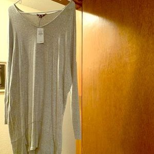 Gray American Eagle sweater dress size M NWT